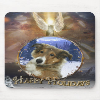 Sheltie Angel Mouse Pads