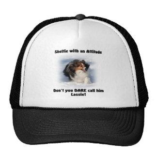 Sheltie Attitude Hat