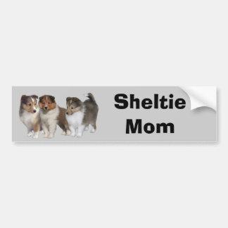 Sheltie Bumper Sticker Car Bumper Sticker