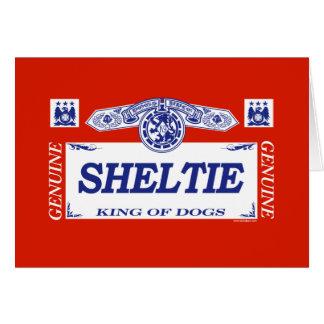 Sheltie Card