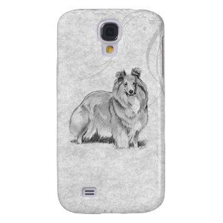 Sheltie Samsung Galaxy S4 Cases