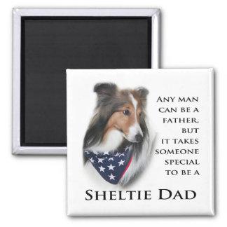 Sheltie Dad #1 Magnet