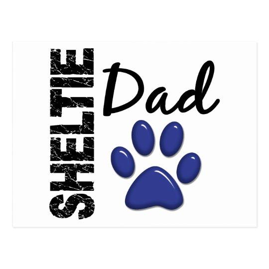 Sheltie Dad 2 Postcard