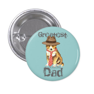 Sheltie Dad Button
