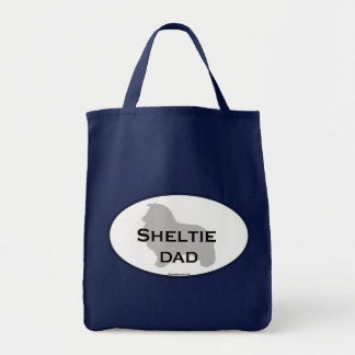 Sheltie Dad Canvas Bags