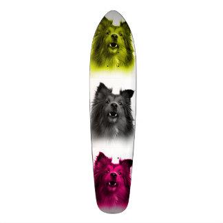 Sheltie dog art 0207 WB Skateboard Deck
