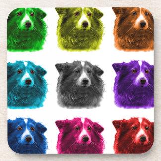 Sheltie dog art 9973 Wb Coaster