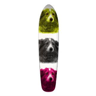 Sheltie dog art 9973 Wb Skateboard