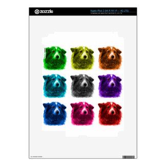 Sheltie dog art 9973 Wb Skin For iPad 3