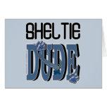 Sheltie DUDE Card