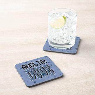 Sheltie DUDE Drink Coaster