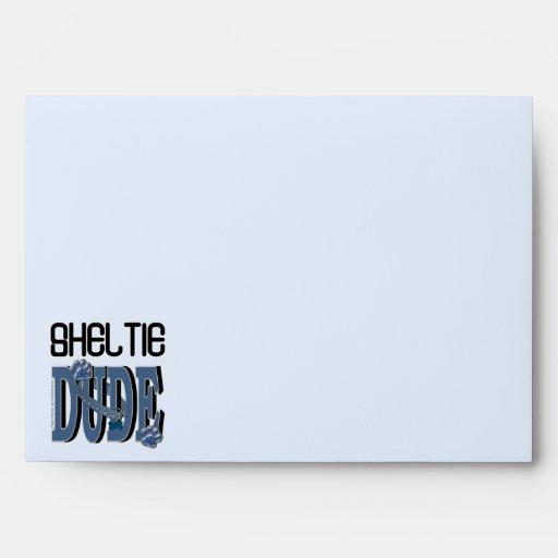 Sheltie DUDE Envelope