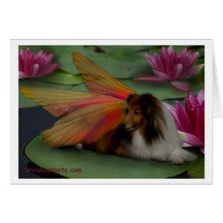 Sheltie Fairy Notecard Cards