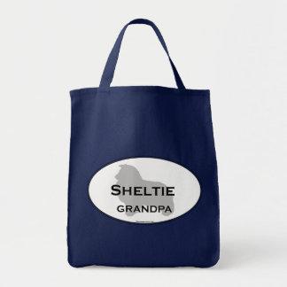 Sheltie Grandpa Tote Bag