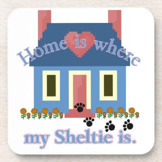 Sheltie Home Is Coaster