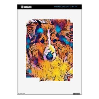 Sheltie image iPad 3 skins