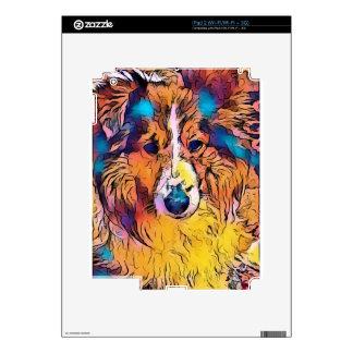 Sheltie image skin for the iPad 2