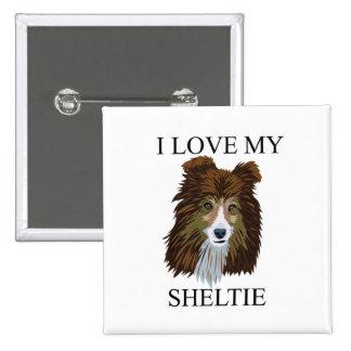 SHELTIE Love! Pin