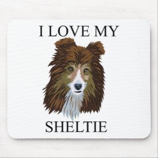 SHELTIE Love! Mouse Pad