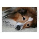 Sheltie Love Stationery Note Card