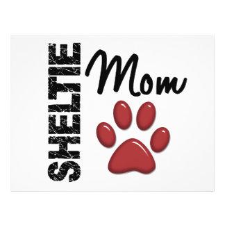 Sheltie Mom 2 Personalized Flyer