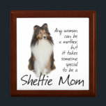 "Sheltie Mom Box<br><div class=""desc"">This Shetland Sheepdog box is a great gift for any Sheltie Mom.</div>"