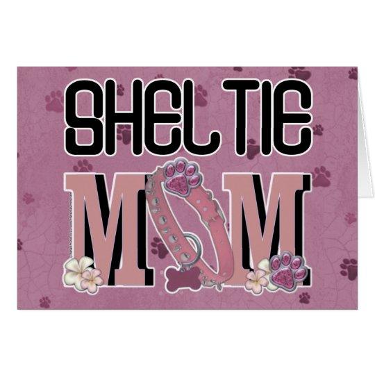 Sheltie MOM Card