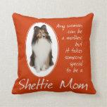 Sheltie Mom Pillow