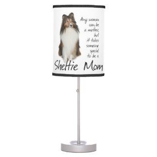 Sheltie Mom Table Lamp