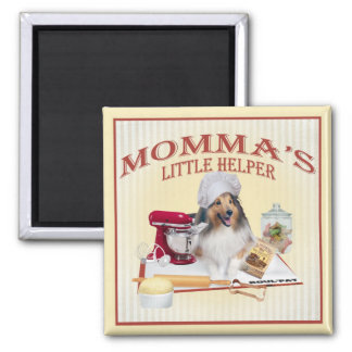 Sheltie Momma's Helper magnets