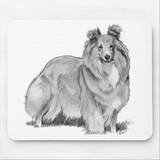 Sheltie Mouse Pad