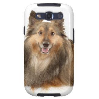 Sheltie o perro pastor de Shetland Samsung Galaxy S3 Carcasa