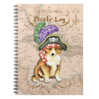 Sheltie Pirate Notebook