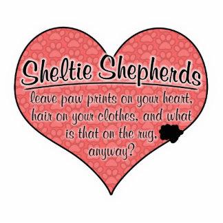 Sheltie Shepherd Paw Prints Dog Humor Cut Outs