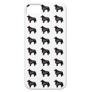 Sheltie (Shetland Sheepdog) Love iPhone SE/5/5s Case