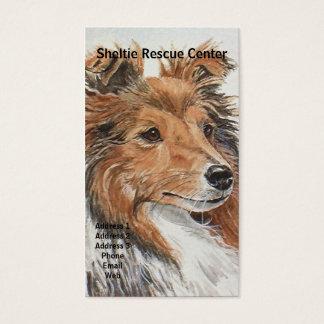 Sheltie Shetland Sheepdog Themed Business Cards