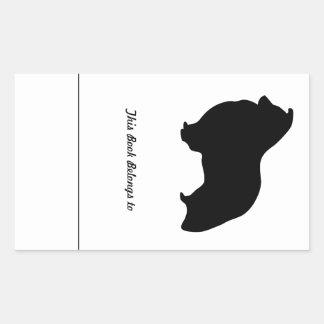Sheltie Stuff Rectangular Sticker