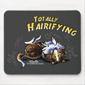 Sheltie Totally Hairifying Mouse Pad