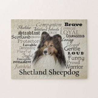 Sheltie Traits Puzzle