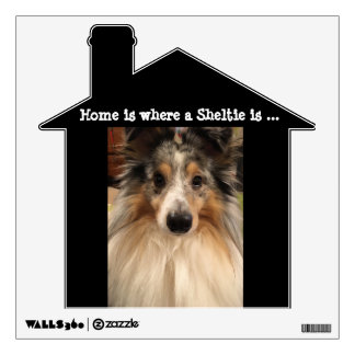 Sheltie Wall Decal