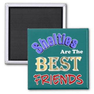 Shelties es los mejores amigos imanes