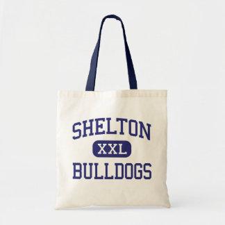 Shelton - Bulldogs - High - Shelton Nebraska Canvas Bag