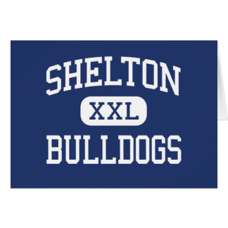 Shelton - Bulldogs - High - Shelton Nebraska Greeting Card