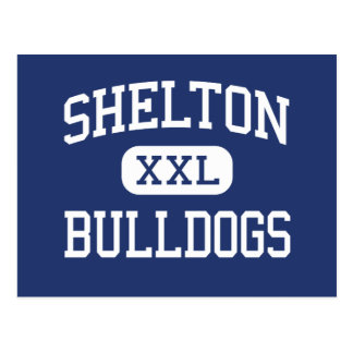 Shelton - Bulldogs - High - Shelton Nebraska Postcard