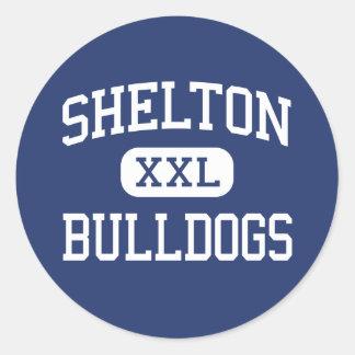 Shelton - Bulldogs - High - Shelton Nebraska Classic Round Sticker