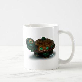 Shelton la tortuga taza básica blanca