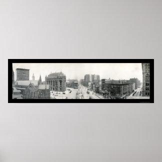 Shelton Square-Buffalo Photo 1911 Print