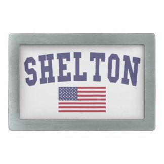 Shelton US Flag Belt Buckle