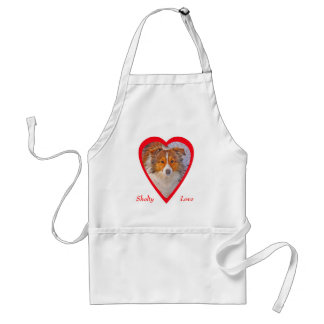 Shelty In Heart Apron
