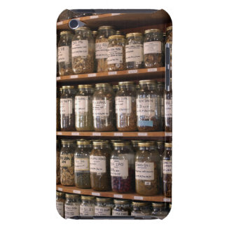 Shelves of herb jars Case-Mate iPod touch case